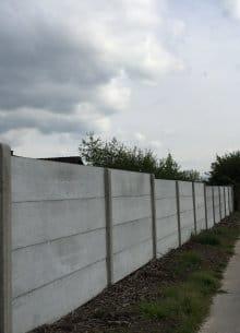betonnen afsluiting