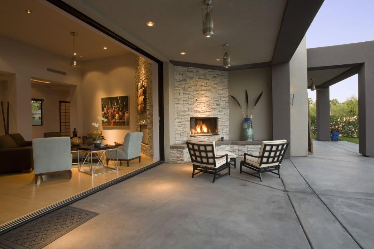 betonvloer storten in tuin
