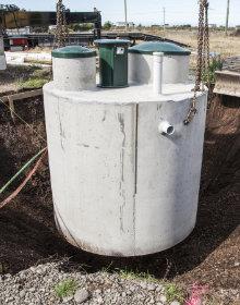 regenwaterput beton